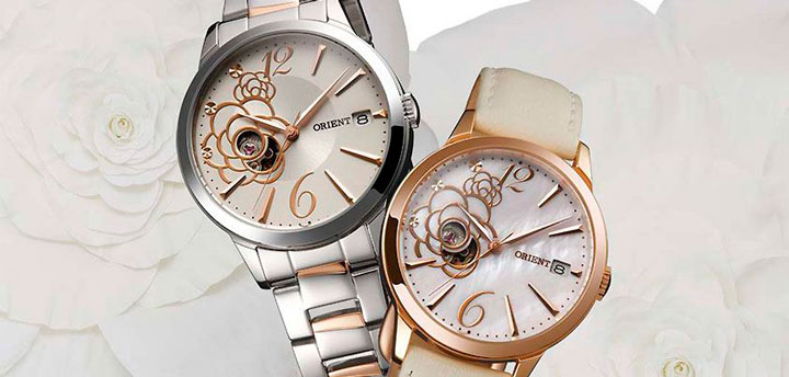 Orient Fashionable Automatic Camellia watches
