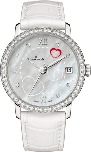 Saint Valentin 2014 watch by Blancpain