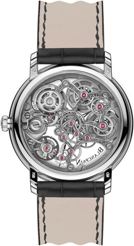 Tradition 8-Day Squelette (Ref. 6633.1500.55B) watch backside