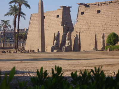 Amun-Ra temple at Luxor