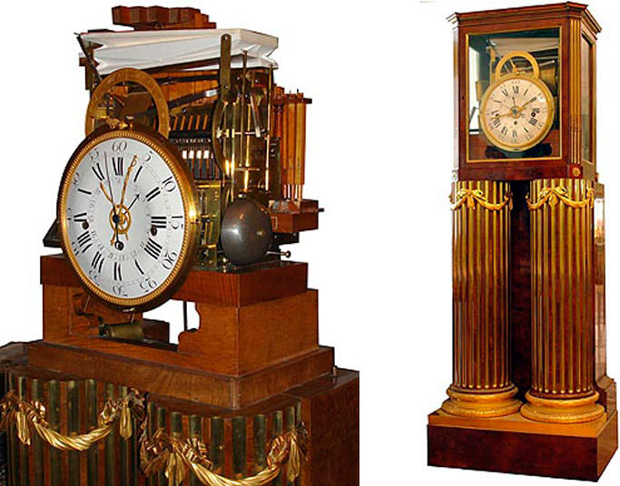 Musical clock of XVIII century