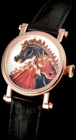 Speake-Marin 'Horses' Maki-e dial watch