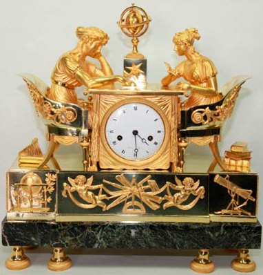 Mantle Clock Empire, 1810
