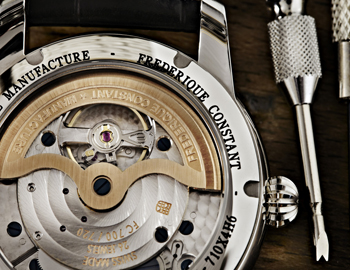 Classics Manufacture (Ref. FC-710MC4H6) watch backside