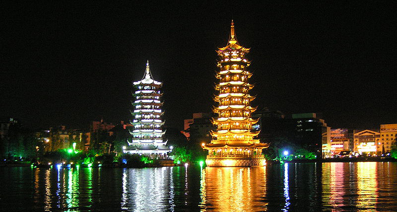 Pagodas in China