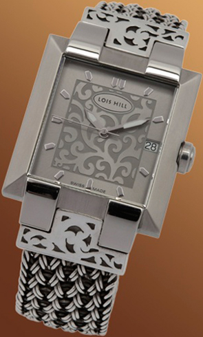 ladies silver watch Lois Hill 9384-1201
