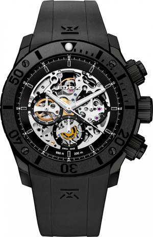 Ghost Ship Limited Edition watch by Edox