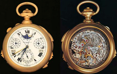 The Henry Graves Super Complication Timepiece by Patek Philippe will again be sold at Sotheby's