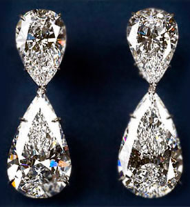 the most expensive earrings - Harry Winston