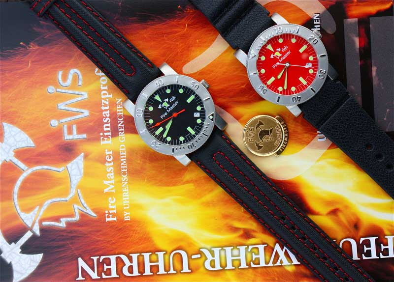 Orfina Fire Master watches