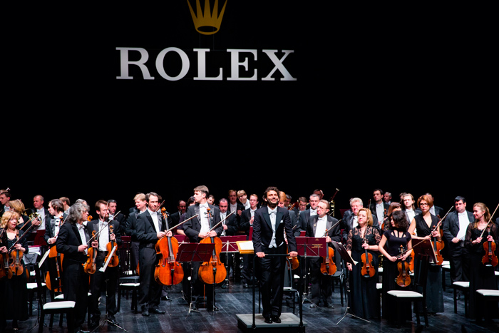 "Jonas Kaufmann Concert in ""Barvikha Luxury Village"" with the Rolex Support"