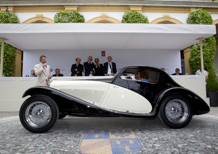 Captured the hearts of jury and public: Alfa Romeo 6C 1750 GS 6th Series Coupé of 1933 (Photo: BMW Group)