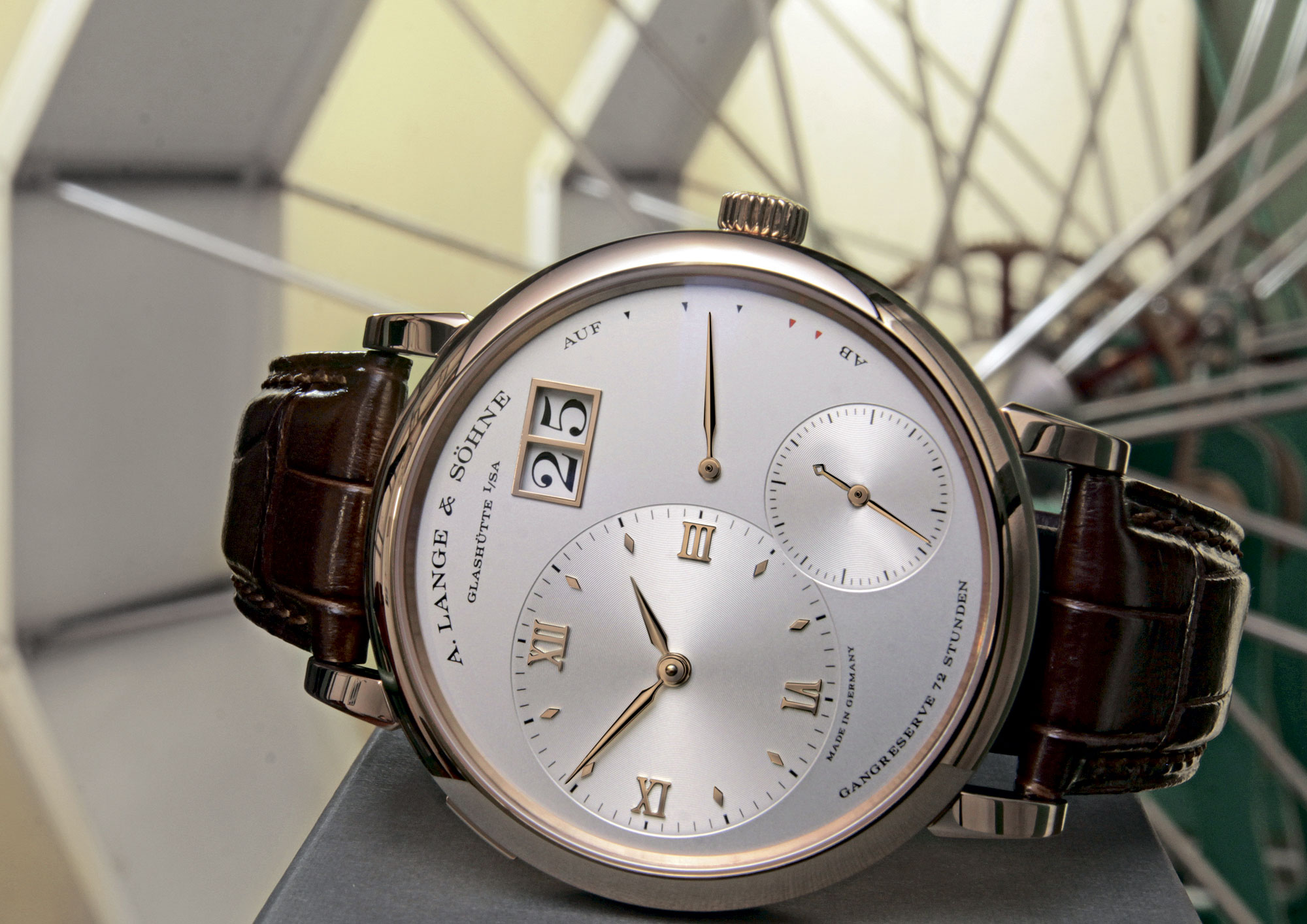 A. Lange & Sohne Presents a New Version of Grand Lange 1 Watch