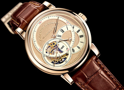 Richard Lange Tourbillon Pour le Merite Handwerkskunst watch by A. Lange & Söhne