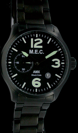 AMX BLACK CATS watch