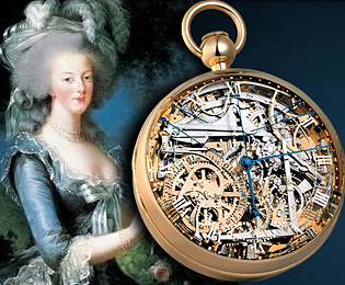 Marie Antoinette and Breguet watch