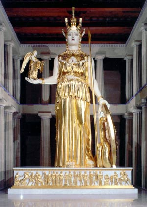 statue of the goddess Athena