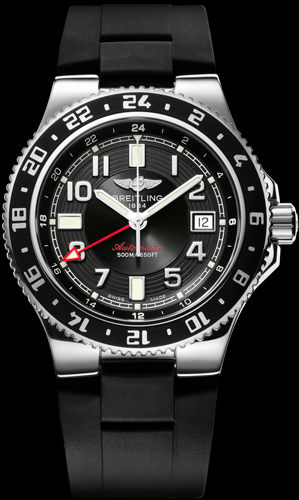 Breitling Superocean GMT watch