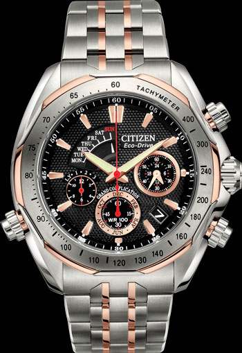 Electronic watch with repeater Citizen Signature Collection Grand Complication (Ref. BZ0016-50E)