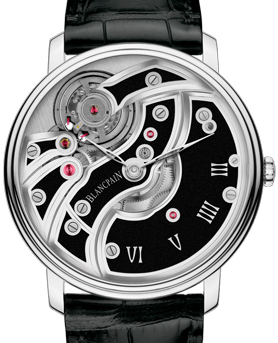Villeret Mouvement Inversé watch