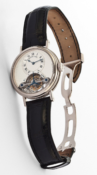 Brevet du 7 Messidor An 9.Tourbillon watch
