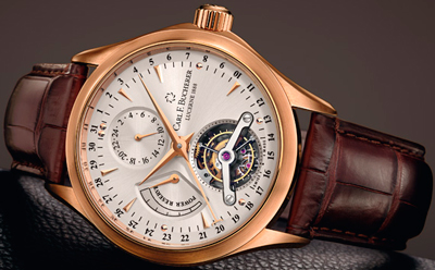 Manero Tourbillon Limited Edition watch by Carl F. Bucherer
