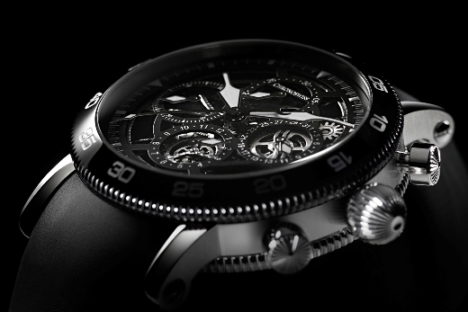 The Timemaster Chronograph Skeleton watch