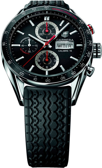 Carrera Calibre 16 Day Date Monaco Grand Prix LE watch (CV2A1F)