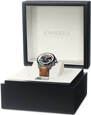 Christopher Ward C70 DBR1 Chronometer watch