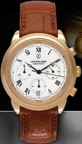 Leinfelder Chronograph watch