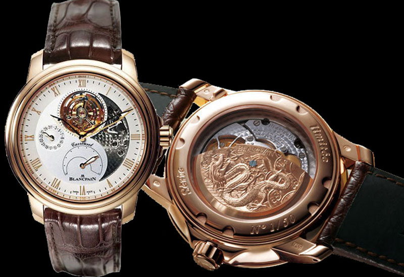 "Blancpain Caruso ""Chinese Dragon"" Limited Edition"