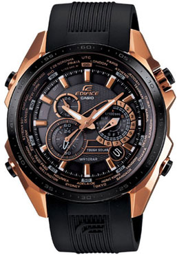 Casio Black X Rose EQS-500CG-1A watch