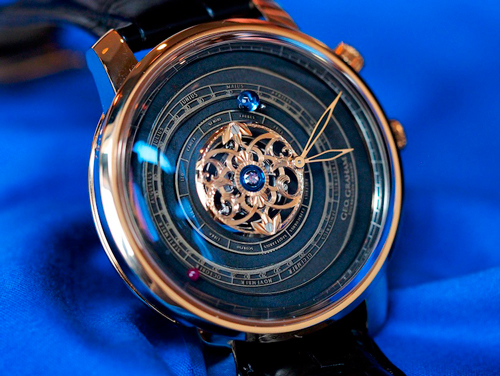 Geo.Graham Tourbillon Orrery watch