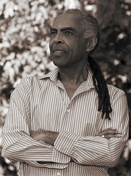 legendary Brazilian singer and guitarist, songwriter Gilberto Gil