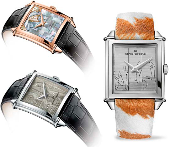 Girard Perregaux Le Corbusier Trilogy watch