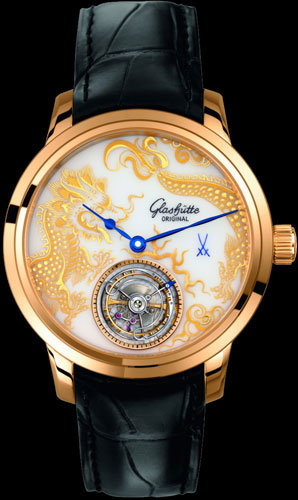 Glashütte Original Senator Meissen Tourbillon Dragon (Ref. 94-13-02-01-04)