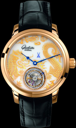 Glashütte Original Senator Meissen Tourbillon Dragon (Ref. 94-13-03-01-04)