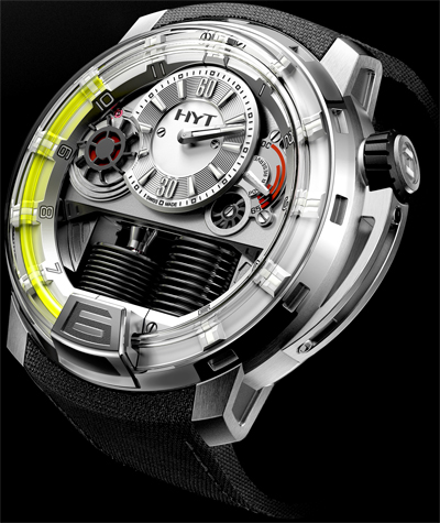 HYT H1 Hydro Mechanical Watch Titanium