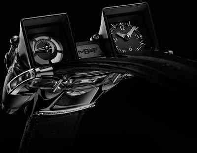 HM4 Final Edition watch by MB&F