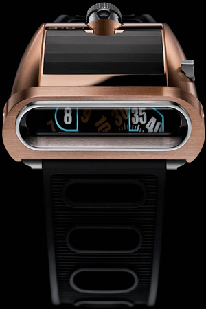 MB&F HM5 Red Gold watch