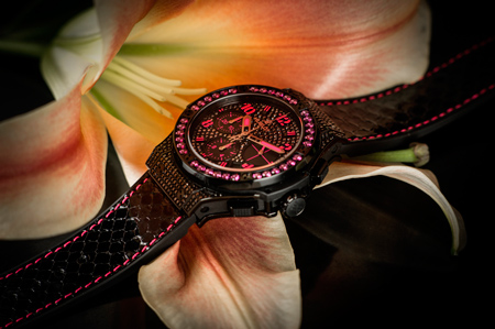 Big Bang Fluo Pink watch by Hublot