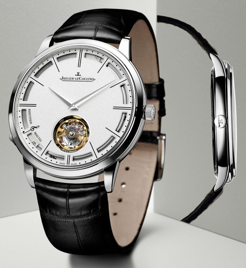 Jaeger lecoultre master ultra thin minute repeater flying tourbillon