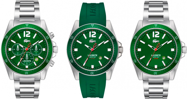 Lacoste Seattle watches in honor of Wimbledon