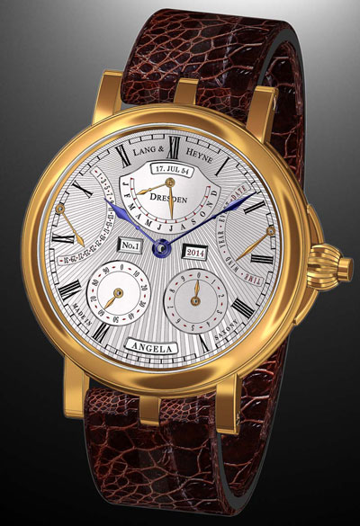The new model Augustus I of the watch company Lang & Heyne