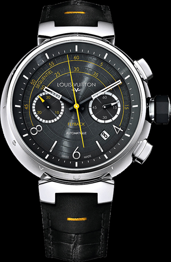 Louis Vuitton Tambour Flyback watch