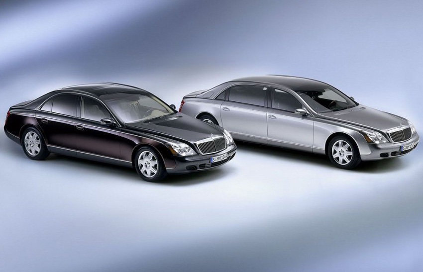 Maybach 57 and Maybach 62
