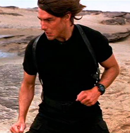 """Mission: Impossible 3"". Tom Cruise. Casio G-Shock MTG-910D-2V"