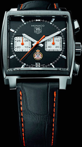 Monaco Calibre 12 ACM Limited Edition watch (CAW211K)