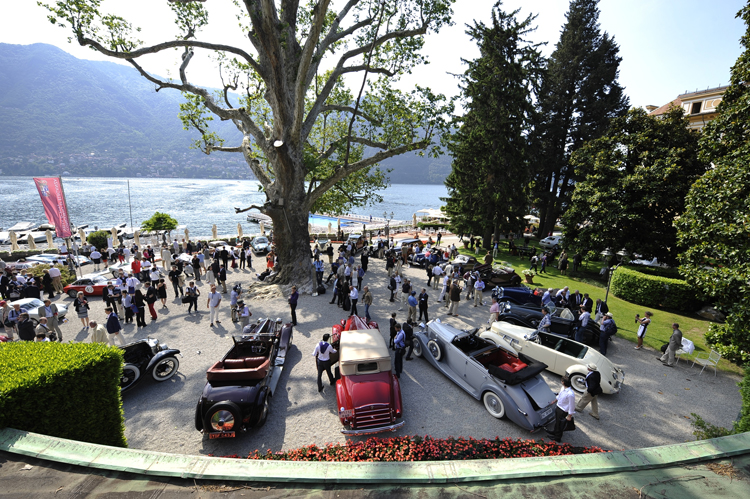 A festival of beauty in front of a breath-taking scenery: Concorso d'Eleganza Villa d'Este 2012 (Photo: BMW Group)