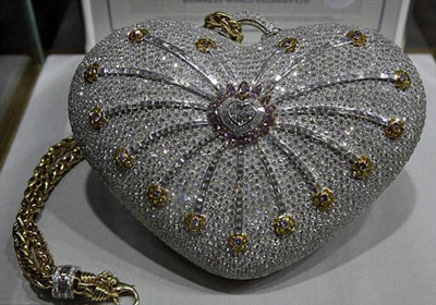 the most expensive handbag - 1001 Nights Diamond Purse